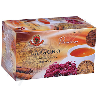 Zobrazit detail - HERBEX Lapacho čaj n. s. 20x2g