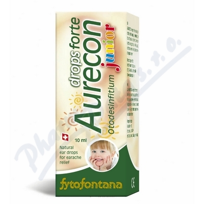 Zobrazit detail - Fytofontana Aurecon drops forte Junior 10ml