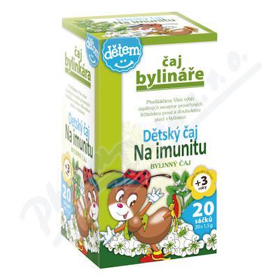 Zobrazit detail - Čaj Bylináře Dětský čaj na imunitu 20x1. 5g