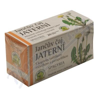 Zobrazit detail - Jančův čaj jaterní 20 nálevových sáčků
