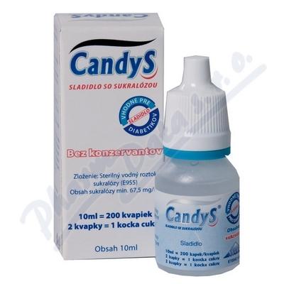 Zobrazit detail - CandyS 10ml sladidlo se sukralózou