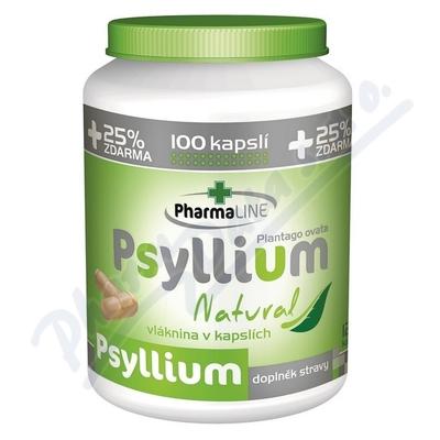 Zobrazit detail - Psyllium Natural cps. 100+25% ZDARMA
