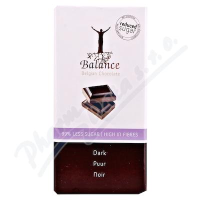 Zobrazit detail - Balance Hořká čokoláda bez cukru 100g