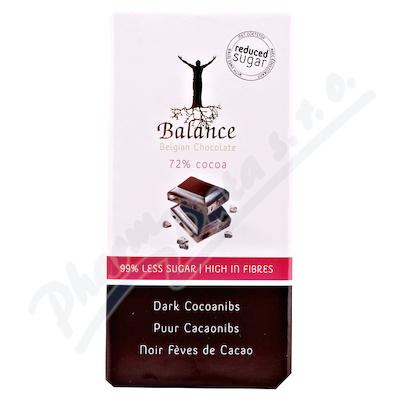 Zobrazit detail - Balance 72% hořká čokoláda s kak. boby b. cukru 100g