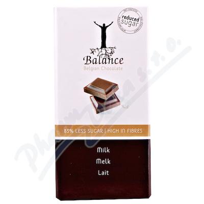 Zobrazit detail - Balance Mléčná čokoláda bez cukru 100g