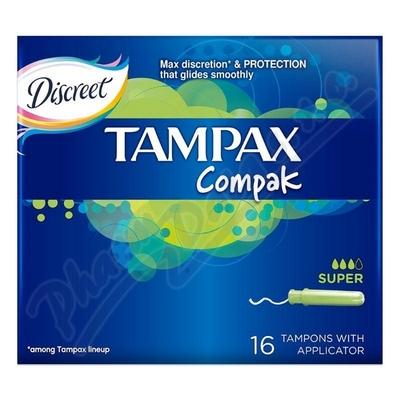 Zobrazit detail - DH tamp�ny Tampax Compak Economy Super 16 ks