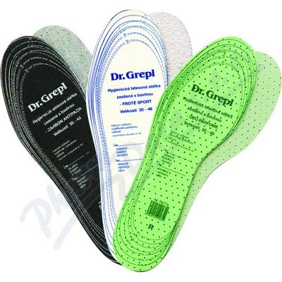 Zobrazit detail - DR. GREPL Vložky hygiena nohou po celý rok 3 páry