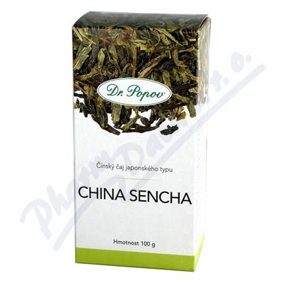 Zobrazit detail - Dr. Popov Čaj China Sencha zelený 100g