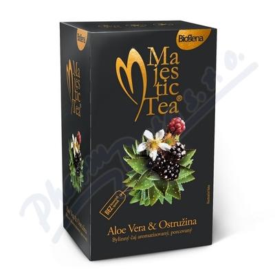 Zobrazit detail - Čaj Majestic Tea Aloe Vera+Ostružina n. s. 20x2. 5g