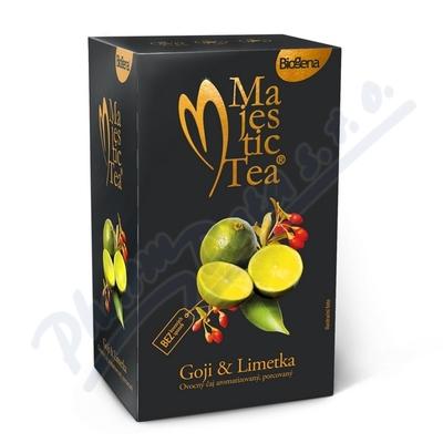 Zobrazit detail - Čaj Majestic Tea Goji+Limetka n. s. 20x2. 5g Biogena
