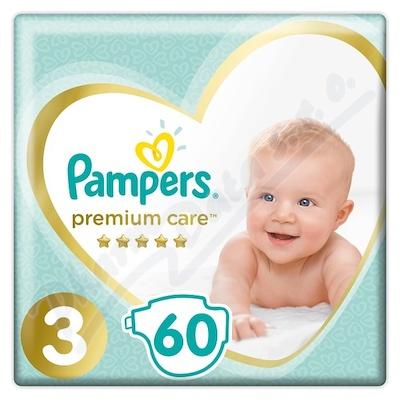 Zobrazit detail - PAMPERS Premium Care 3 Midi 60ks