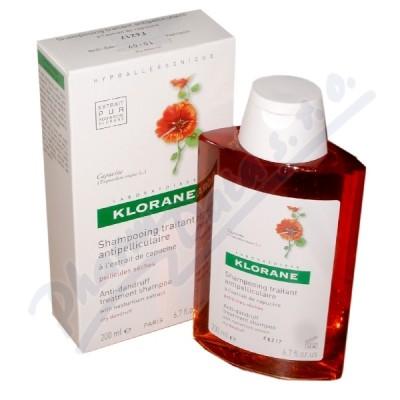 Zobrazit detail - KLORANE Capucine šamp. 200ml - suché lupy