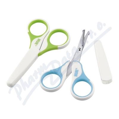 Zobrazit detail - NUK nůžky dětské zdravotní s krytem 256. 257