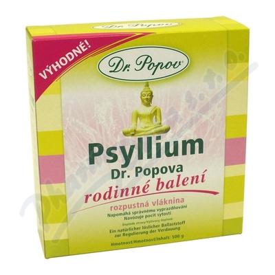 Zobrazit detail - Dr. Popov Psyllium indická rozpustná vláknina 500g