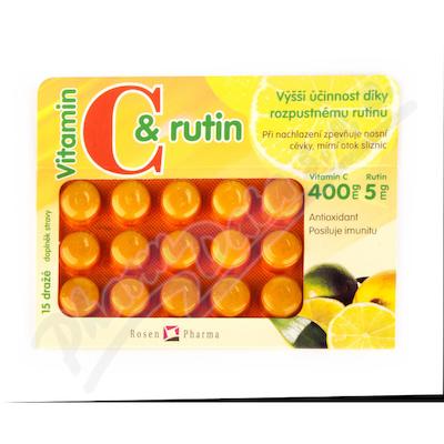 Rosen C+rutin 400 mg drg.15
