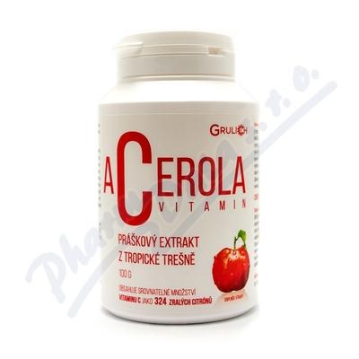 Zobrazit detail - Acerola vitamin standardizovaný prášek 100g