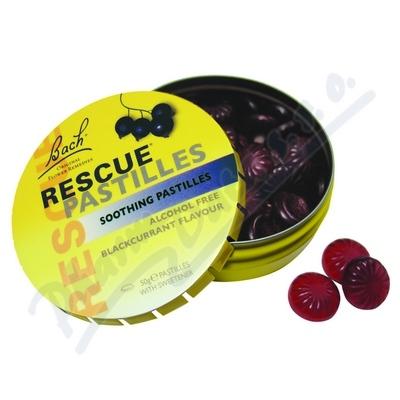 Zobrazit detail - RESCUE pastilky černý rybíz 50g