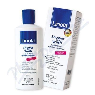 Zobrazit detail - Linola Shower and Wash 300ml