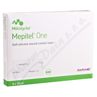 Krytí Mepitel One silikon.ster.krytí 8x10cm 5ks
