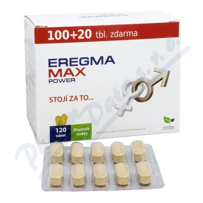 Zobrazit detail - Natural Medicaments Eregma Max Power tbl. 120