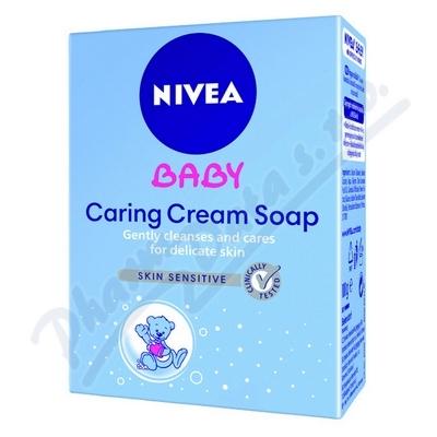 NIVEA Baby Krémové mýdlo 100g č.80500