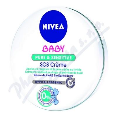 Zobrazit detail - NIVEA Baby Nutri sensitive SOS krém 150ml 80523