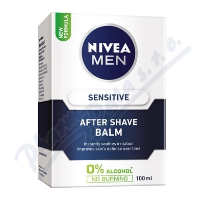 Zobrazit detail - NIVEA FOR MEN po hol. Balzám SENSITIVE 100ml 81306
