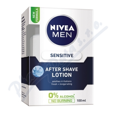 Zobrazit detail - NIVEA FOR MEN po hol. Voda SENSITIVE 100ml 81314