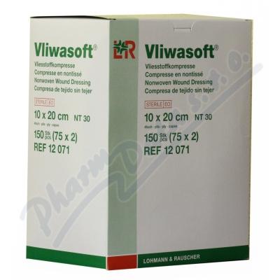 Komprese Vliwasoft steril. 10x20cm-4v. 150ks
