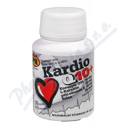 Zobrazit detail - JML Kardio Q10+ 30mg cps. 34 (L-Karnitin+vit. E+Se)