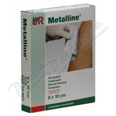 Zobrazit detail - Komprese alum. Metalline 8x10cm 10ks