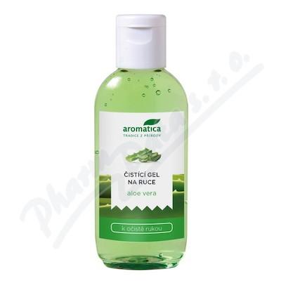 Zobrazit detail - AROMATICA Antibacterial hand gel Aloe Vera 75ml