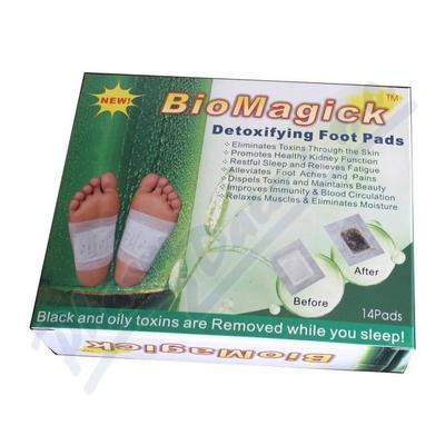 Detoxikační náplasti Biomagick 14 ks