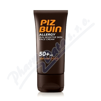 Zobrazit detail - PIZ BUIN NEW SPF50+ Allergy Face Care 50ml
