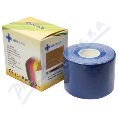 FOX MUSCLE TEJP-kinezio tejp.páska modrá 5cmx5m