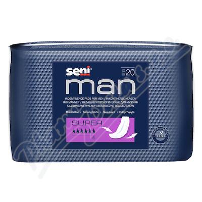 Seni Man Super inkontinenční vložky pro muže 20ks