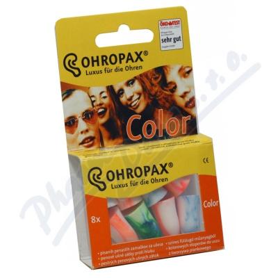 Zobrazit detail - Chránič sluchu Ohropax Color 8ks