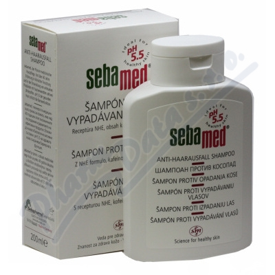 Zobrazit detail - SEBAMED Šampon proti vypadávání vlasů 200ml
