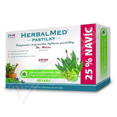 Zobrazit detail - HerbalMed past.  Dr. Weiss Jitroc+mateř+lípa+C 24+6