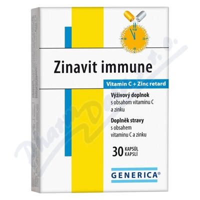 Zobrazit detail - Zinavit immune Generica cps. 30