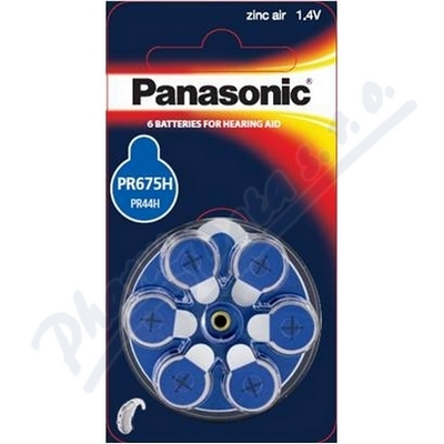 Zobrazit detail - Baterie do naslouchadel PR-675H(44H)-6LB Panasonic