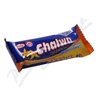 Zobrazit detail - Chalva sezamová s vanilkovou příchutí 50g