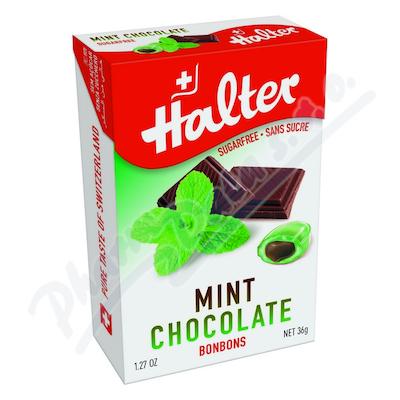 Zobrazit detail - HALTER bonbóny Máta s čokoládou 36g H203352