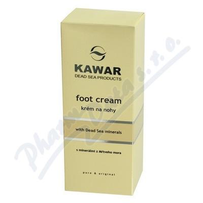 Zobrazit detail - KAWAR Krém na nohy s minerály z Mrtvého moře 150ml