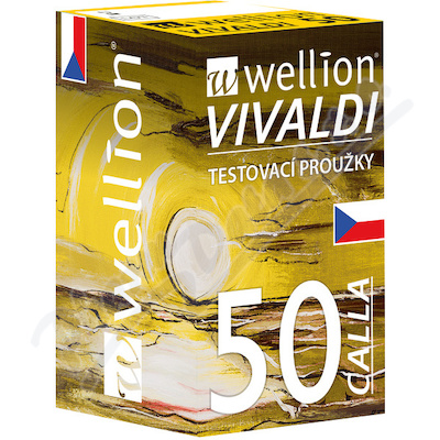 Testovací proužky Wellion Calla 50ks (Vivaldi)
