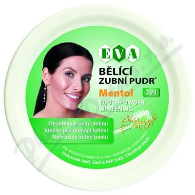 Zobrazit detail - EVA B�l�c� zubn� pudr mentol 30g
