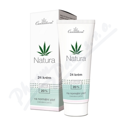 Zobrazit detail - Cannaderm Natura 24 kr�m na norm�ln� ple� 75g