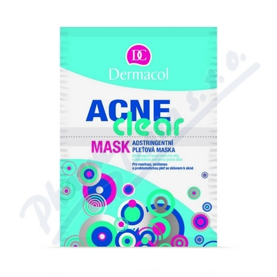 Zobrazit detail - Dermacol Acneclear maska pro problematic. ple� 2x8g