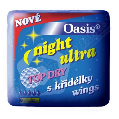 Zobrazit detail - DHV Oasis NIGHT ultra wings top dry 8ks