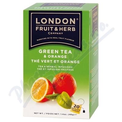 Zobrazit detail - Čaj LFH zelený s pomerančem 20x2g n. s.